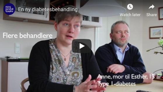 Video Cover - Den Nye Diabetesbehandling
